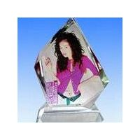 small square /crystal craft/ crystal chandelier/ crystal perfume bottle/ iodine crystals thumbnail image