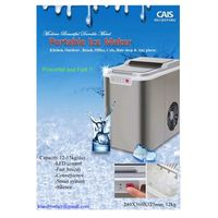 Portable ice maker for car, home