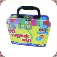 School Lunch Box Cosmetic Box Holiday Tins Manufacturer thumbnail image