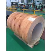 wooden colored PPGI prepainted galvanized steel sheet/plate