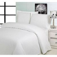 Hospital white bed sheet, hotel bleached white bed sheet, Cotton bedding set, sheet fabric thumbnail image