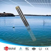 1KW 1.5hp dc solar submersible pump price for home thumbnail image