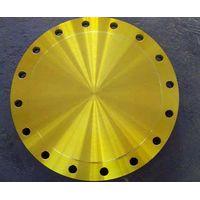 Yellow Paint Flange