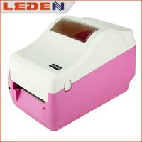 Hot sale color design ROSE RED barcode label printer