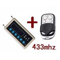 PWcar remote control copy 433mhz car remote code scanner + 433mhz A002 car door remote control copy