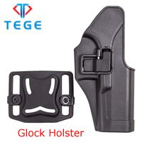 Hot selling quick release polymer pistol holster for Glock 17/23/32
