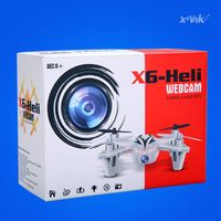 X6 Pro 2.4G 6 Axis 4CH RC Quadcopter With Camera Mode