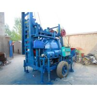 Hydraulic lifting mixer