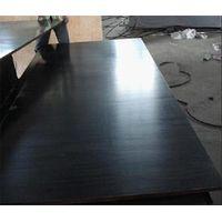 Construction grade black film faced plywood