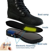 HS2 Rechargeable Electric Heated Shoes For Hiking