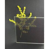 110W double glass amorphous silicon thin film solar panel for BIPV