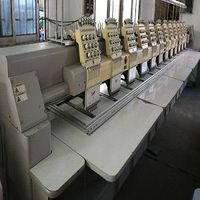 14 heads SWF embroidery machine