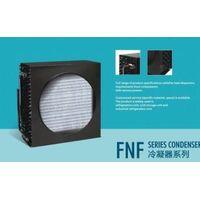 open evaporative air condenser for refrigeration