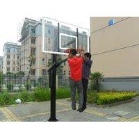 Adjustable Inground Basketball Hoop for Basketball Outdoor and Indoor thumbnail image