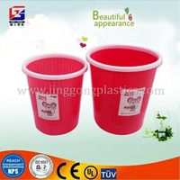 Home and Office Plastic square waste paper basket