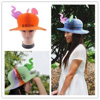 Elephant Paper Hat, Fun Hat for Children and Women in Party, Christmas, Halloween, Birthday, Tourism
