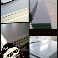 PVC Rigid Sheets  ,density 1.5-1.85g/cm^3 thickness:2-30mm