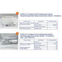 Colloidal Gold HIV antigen Rapid Test Kits covid-19 cov-2 self-test kits thumbnail image