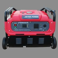 Digital gasoline inverter generator set JTE8000iS