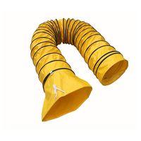 Yellow Flexible Air Ducting Tarpaulin Fabric Air Duct PVC Flexible Air Ducting thumbnail image