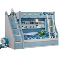 High Quality Colorful Kids Bunk Beds with Drawers