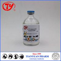 Veterinary medicine 100ml Analgin 30% Injection for cattle and sheep