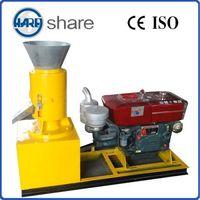 diesel wood sawdust pellet production machine