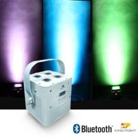 Kingpoint / KP 4*10W RGBA/RGBW Bluetooth Battary Parcan for Stage Lighting,DJ Disco (KPS-891)
