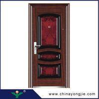 Zhejiang yongkang yongjie low price steel security door Quality Assured thumbnail image