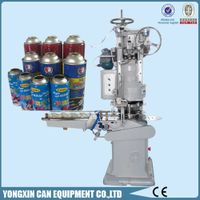 automatic aerosol can seamer machine