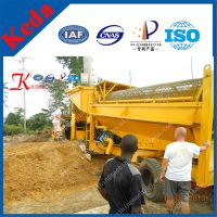China Gold Trommel Screen Gold Mining Machine thumbnail image