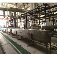 wire surface pre-treatment machine line