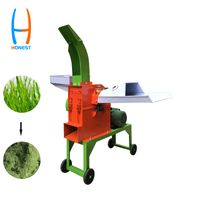 HONEST 690 Grain Shredder Corn Silage Making Chaff Cutter Machinery For Sale