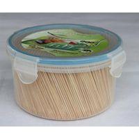 Bamboo toothpicks picks