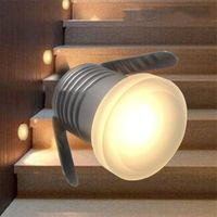 1W Led Moonlight Underground Light Recessed Waterproof Staircase Light IP67 Landscape Floor