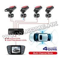 4 Cameras 360 Degree Car DVR CR900 thumbnail image