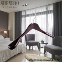 Wholesale Wood Hotel Hanger for Coat