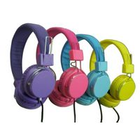 Wired foldable headphone for MP3 mobile or computer and promotion as a gift
