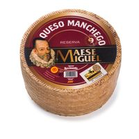 Cured Manchego Cheese PDO   Maese Miguel Reserva