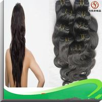 100% Virgin Human Hair Extension Remy Brazilian Hair Wefts/ Weaving