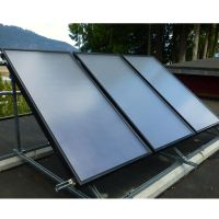 Fast Assembly Rooftop Flat Plate Solar Heat Collector For Hot Water System thumbnail image