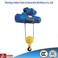 crane hoist/ 500kg CD1 small electric wire rope hoist thumbnail image