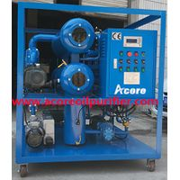 High Vacuum Dehydration Oil Purification Plant
