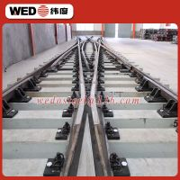 WEDO rail 50kg 1/8 R122 railway turnouts