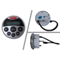 waterproof mp3 player for for marine/sauna room/bathroom