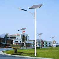 Professional Design Economical Type 5m Pole 30W Solar LED Light Street Light