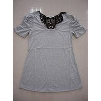 T shirt with lace