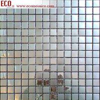 Stainless steel metal mosaic