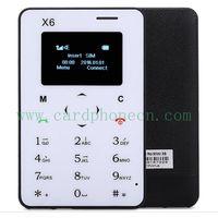 AIEK Card Phone X6 with Keyboard