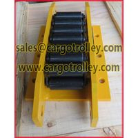 Steel chain roller skids for loads up to more than 2000 tons thumbnail image